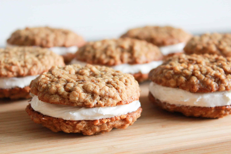 Oatmeal Cream Pies | Celebrating Sweets