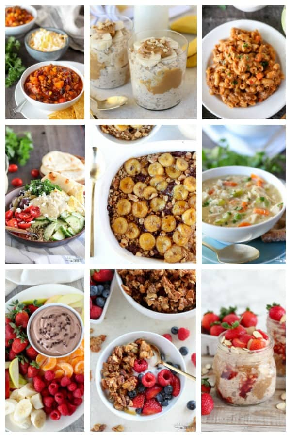 Healthy Recipes Celebrating Sweets
