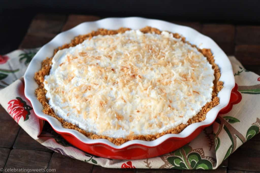 Coconut Cream Pie - Celebrating Sweets