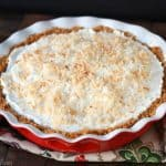 Coconut Cream Pie with Graham Cracker Crust