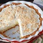 Coconut Cream Pie with Graham Cracker Crust