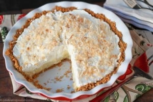 Coconut Cream Pie ~ Celebrating Sweets