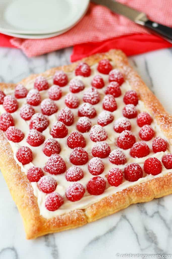 Raspberry Lemon Cream Tart