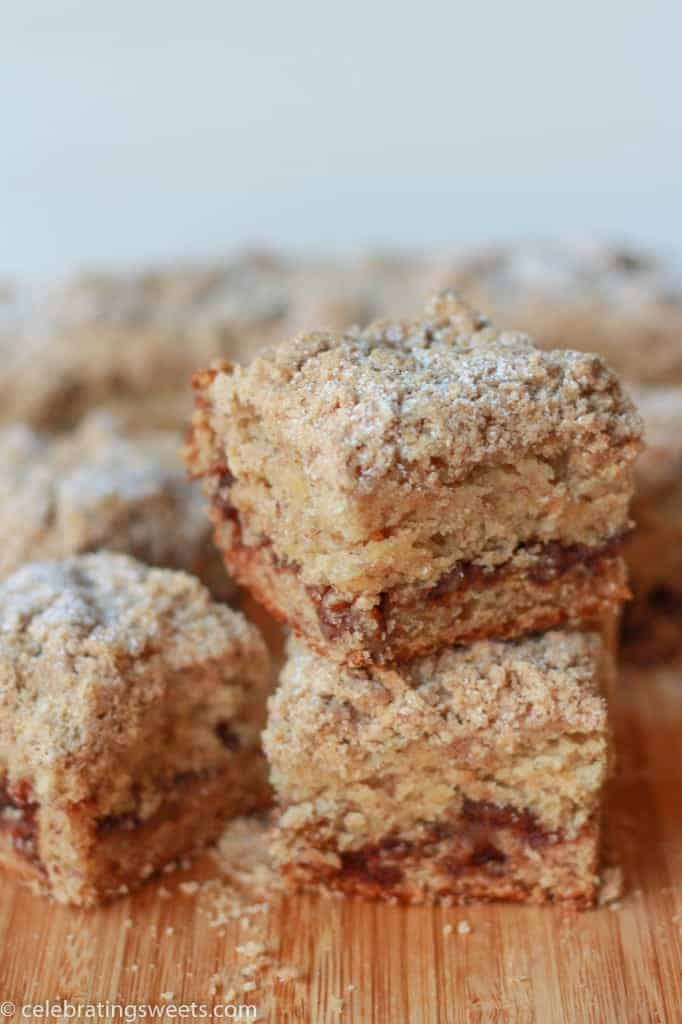 Banana Crumb Cake - Celebrating Sweets-2