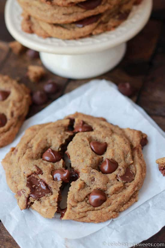 Espresso Chocolate Chip Cookies from Celebrating Sweets
