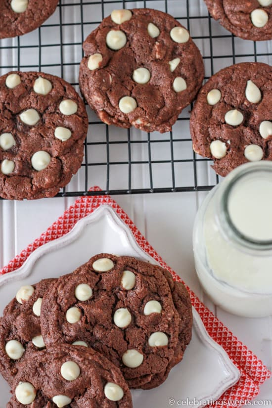 Triple Chocolate Cookies from Celebrating Sweets