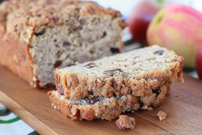 Apple Spice Bread | Celebrating Sweets