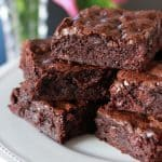An easy recipe for rich, fudgy brownies.