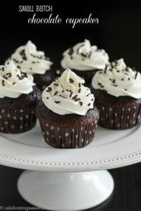 Small Batch Chocolate Cupcakes-2