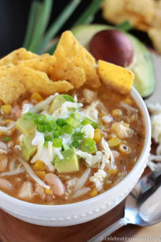 30 Minute White Chicken Chili