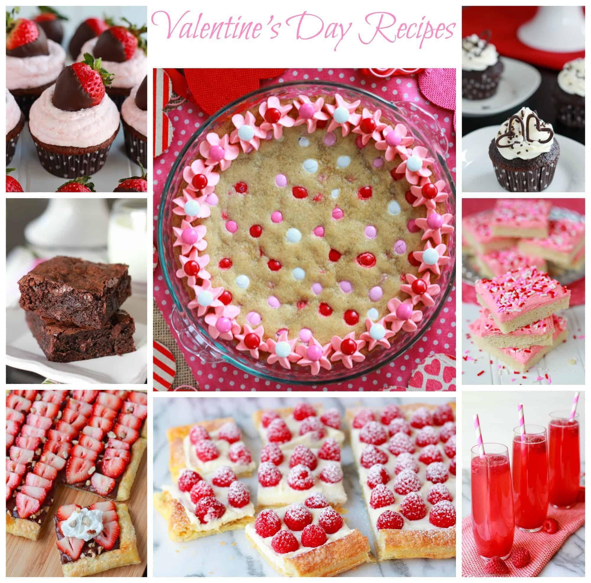 valentines day recipe round up valentines sweets