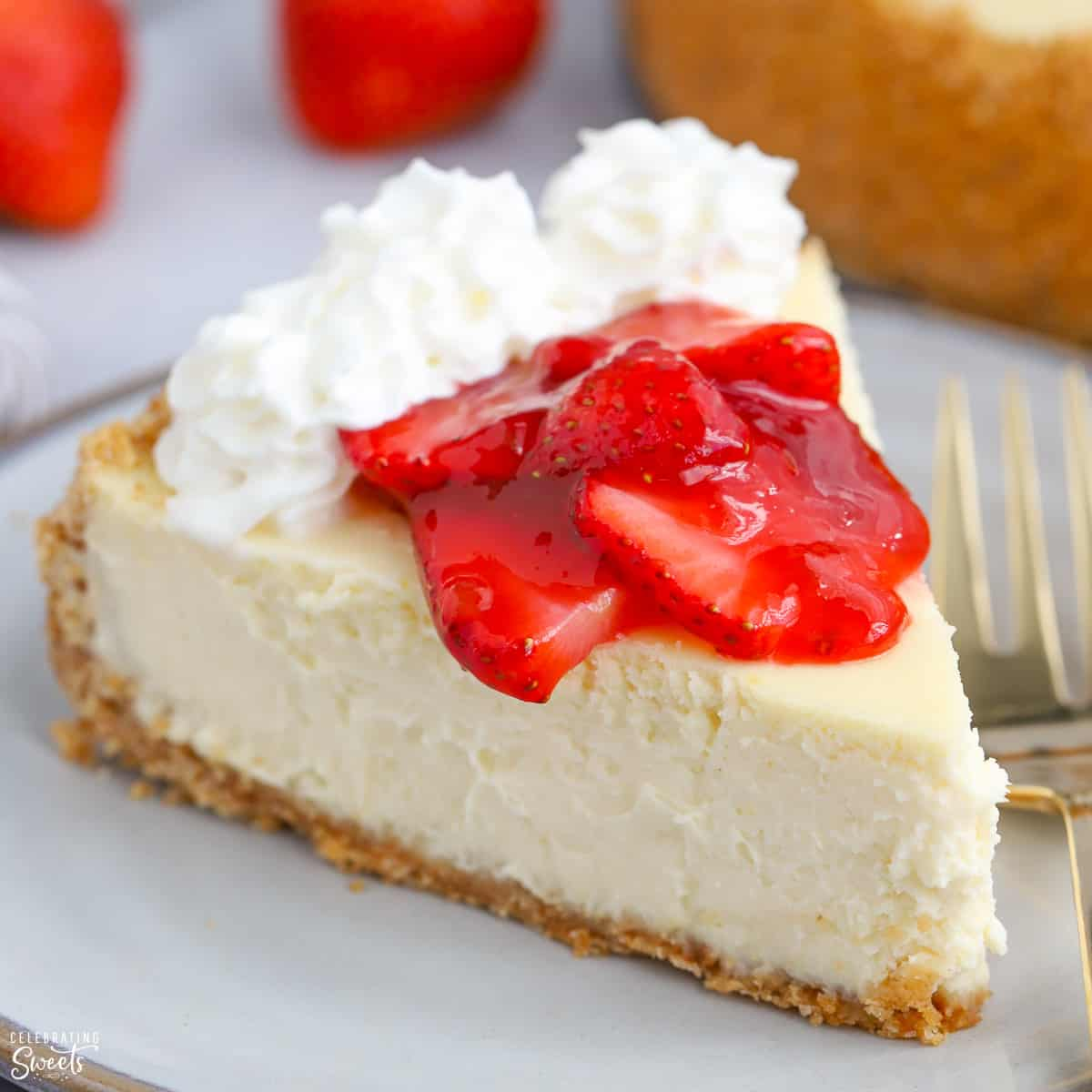 Greek Yogurt Cheesecake Celebrating Sweets