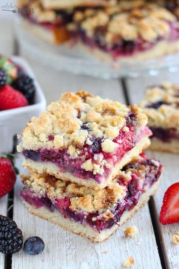strawberry blackberry pie - 600×900