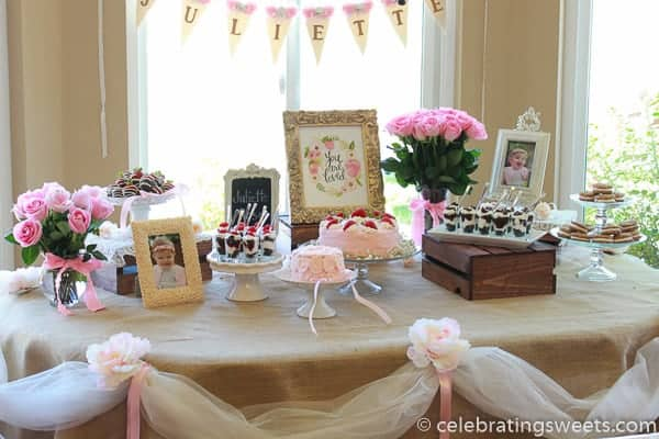 Tips For Creating A Dessert Table