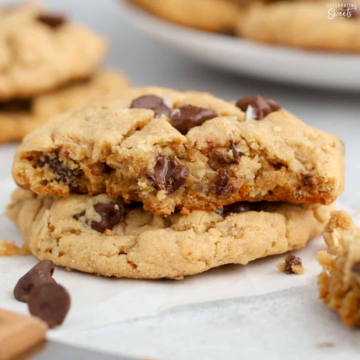 Peanut Butter Oatmeal Cookies Celebrating Sweets