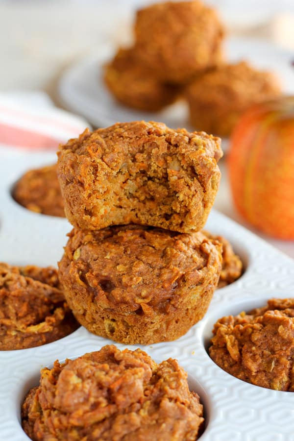 Healthy Pumpkin Muffins Celebrating Sweets