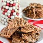 Pecan Praline Graham Cracker Toffee