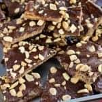 Peanut Butter Graham Cracker Toffee