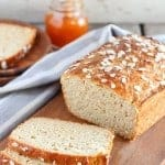 Honey Oat Quick Bread (no yeast, no knead)