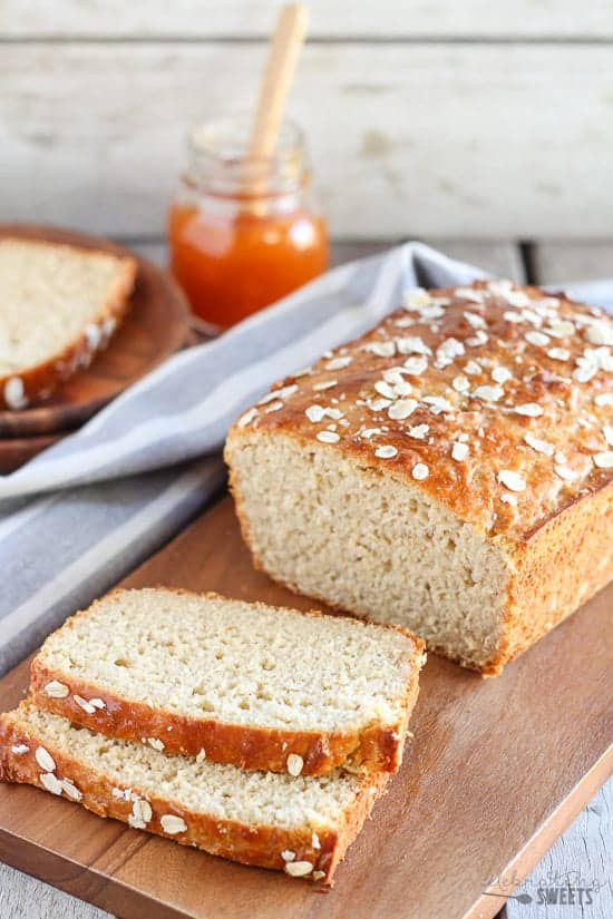 Honey Oat Quick Bread (No Yeast) | Celebrating Sweets