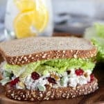 Cranberry Walnut Chicken Salad