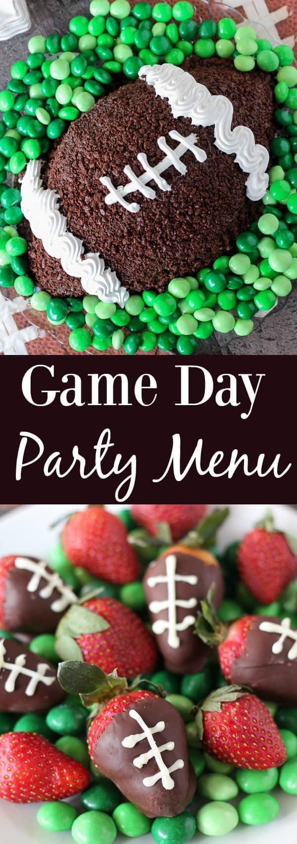 Easy Game Day Party Menu