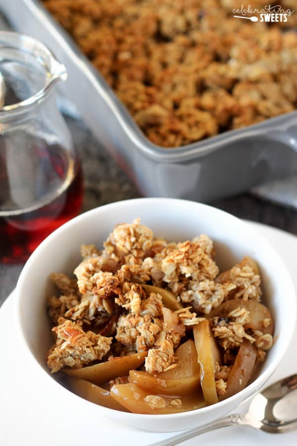 Maple Apple Breakfast Crisp