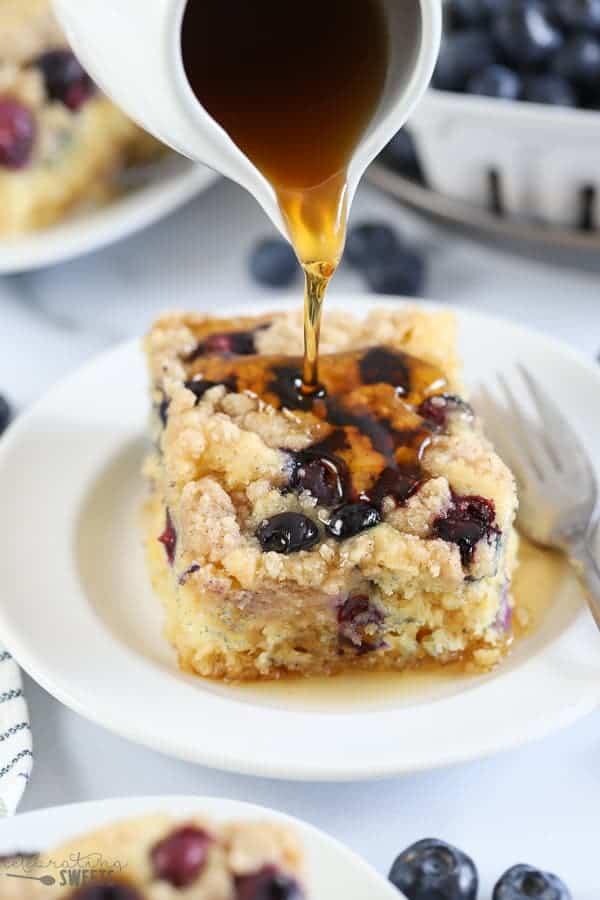 Baked Pancake Casserole