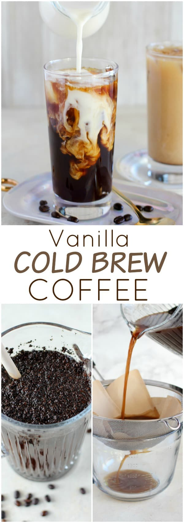 Cold brew coffee.