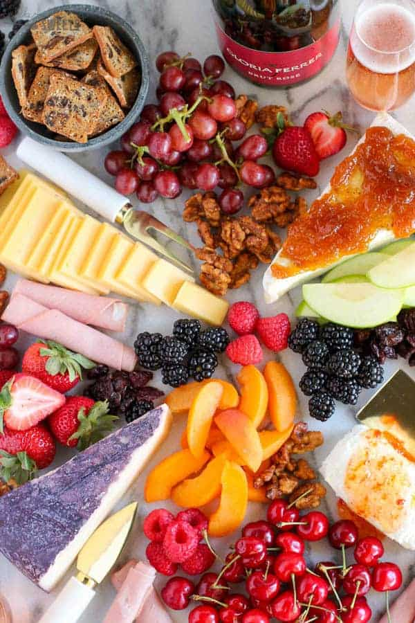 How to make a cheese plate & The BEST Fruit and Cheese Board - Celebrating Sweets