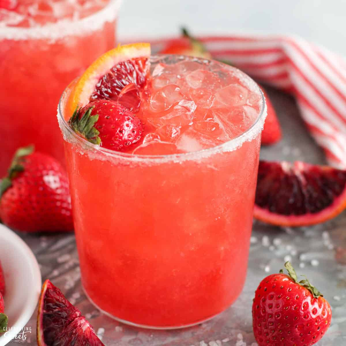 Strawberry Margarita Celebrating Sweets