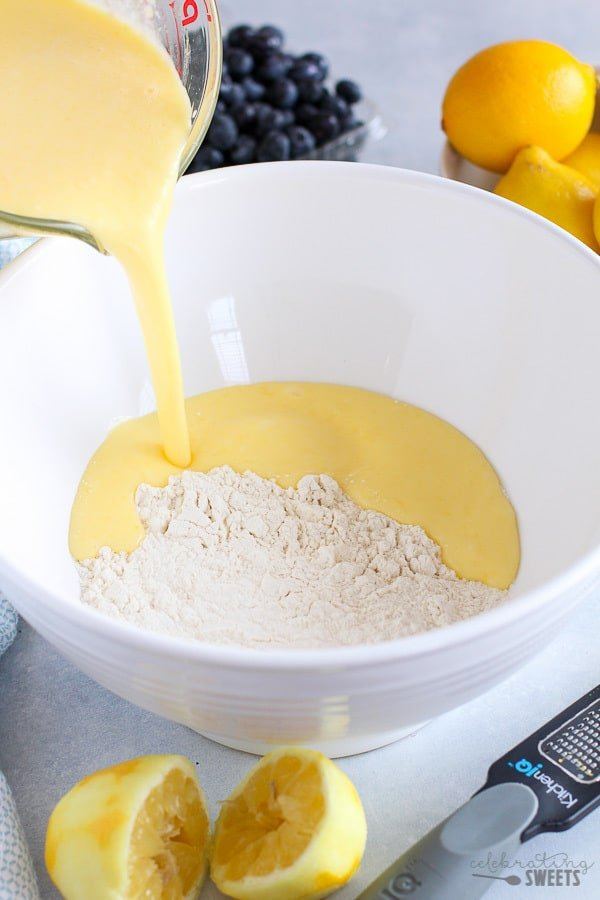 Lemon Muffin batter.
