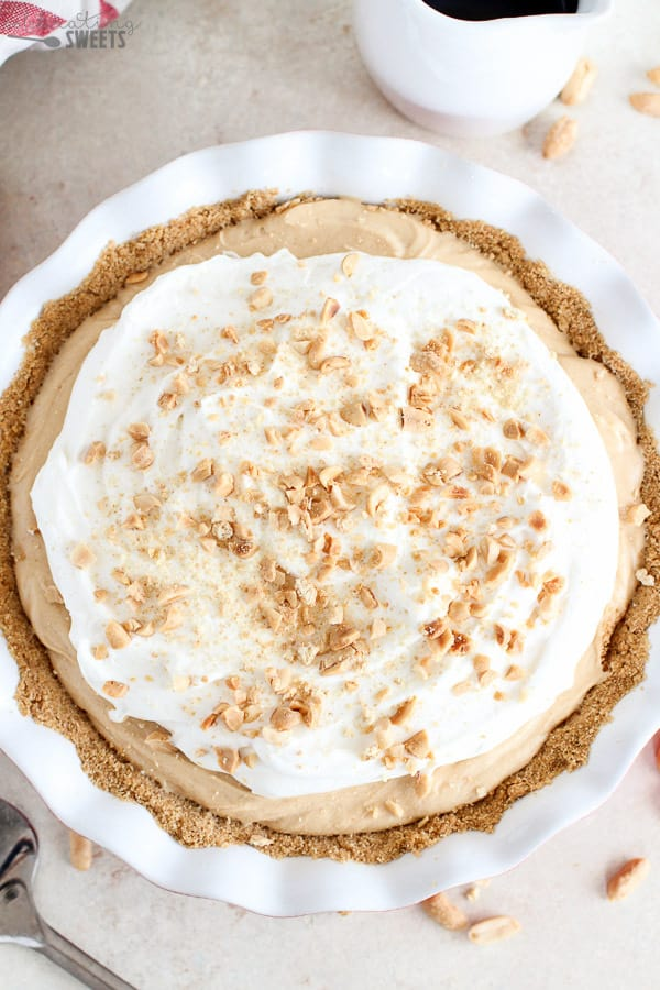 No bake peanut butter pie.