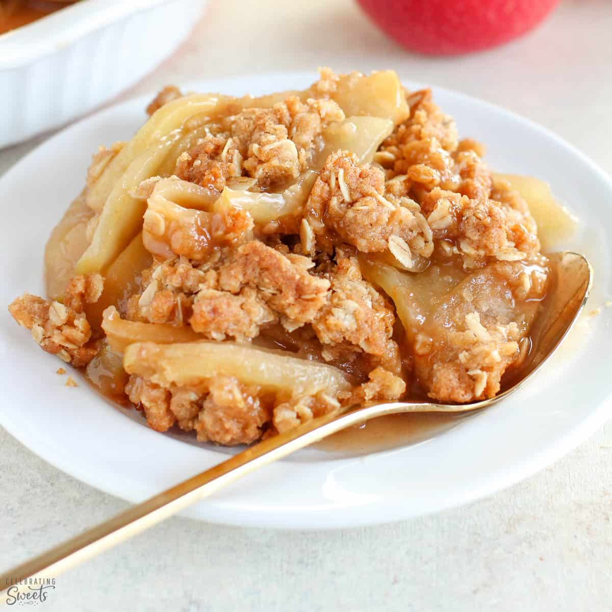 Apple Crisp Recipe Celebrating Sweets