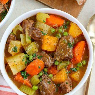 Beef stew.