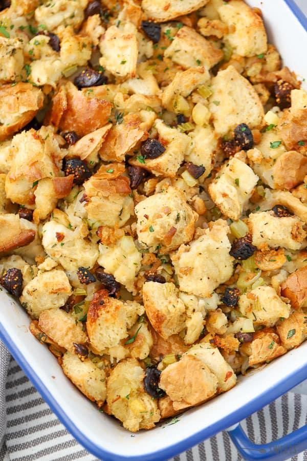 Fig and Sausage Stuffing