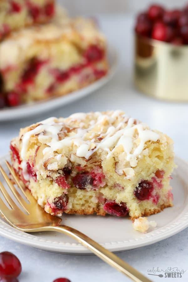 Almond Cranberry Cake