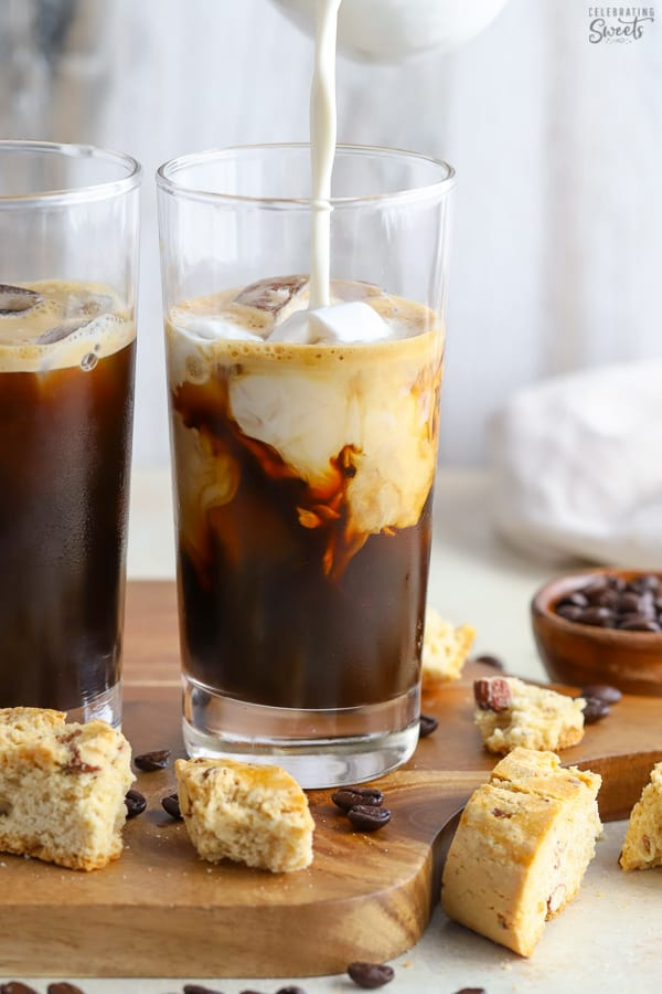 Homemade Coffee Creamer - Celebrating