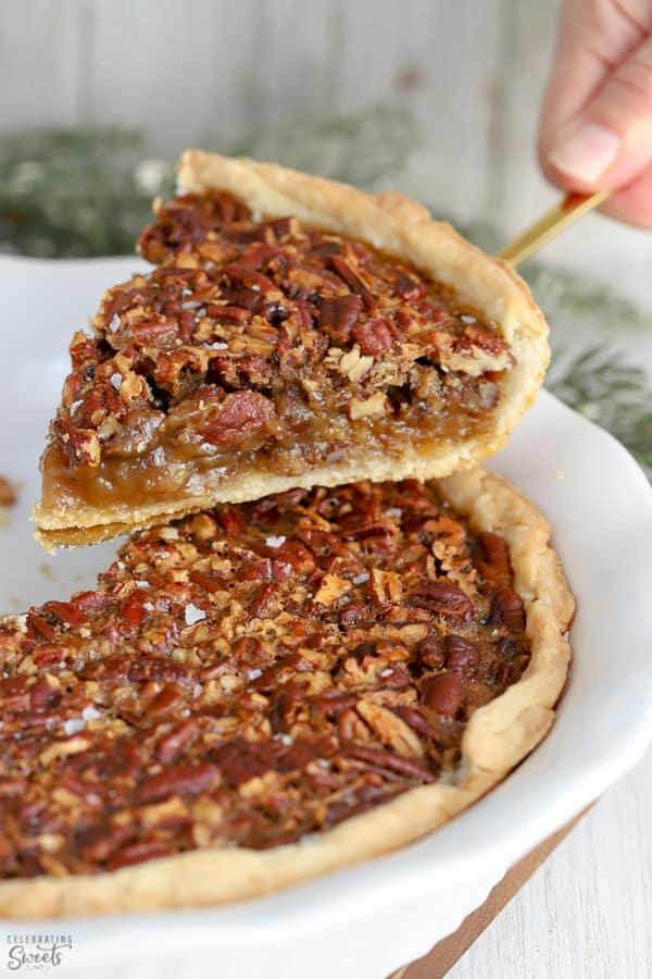 Slice of Pecan Pie.